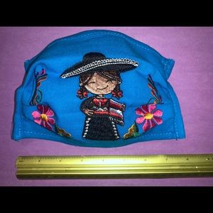 Other - Mexican embroidered 3-layer mask